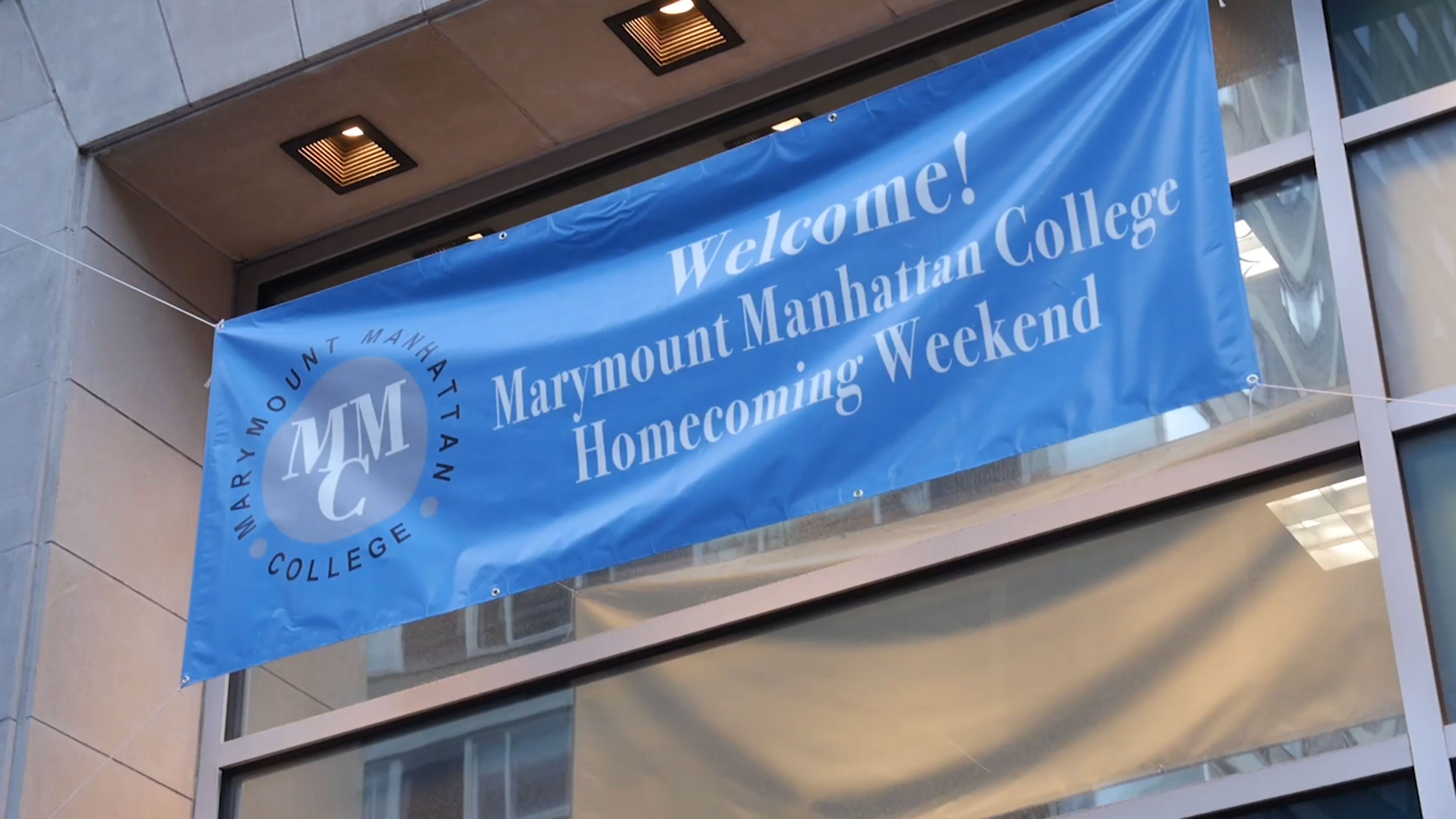Marymount Manhattan College Psa Bunting Design